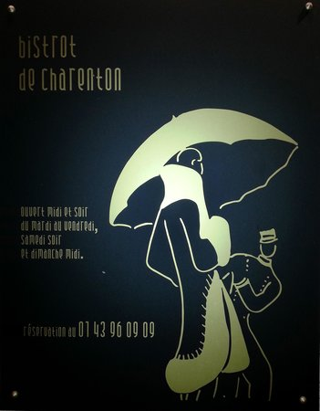 Le Bistrot de Charenton : Bistrot de Charenton