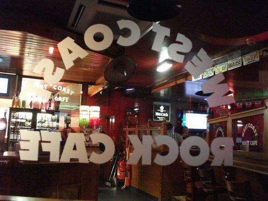 West Coast Rock Cafe: Fab atmosphere