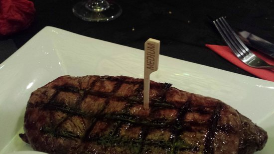 NYC Steakhouse & grill: 16oz Sirloin Steak