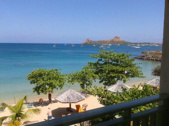 Bay Gardens Beach Resort: See view room