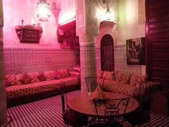 Dar Lalla Kenza: chilled lobby