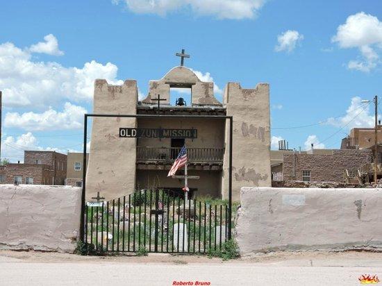 Zuni, Nowy Meksyk: Vista dall'esterno