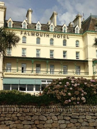 The Falmouth Hotel: Front of hotel