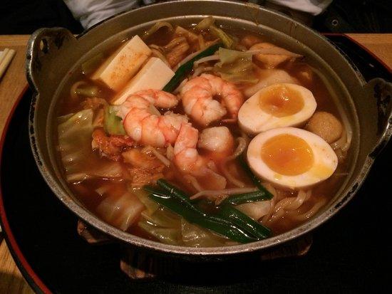 Menchanko-Tei Midtown West : Kimchi Menchanko ramen.