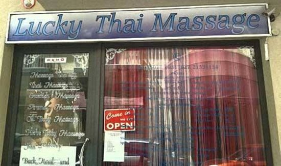 Sliema, Malte : Lucky Thai Spa Entrance