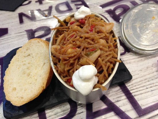 Bar Bergara: Seafood Fideua