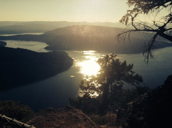 Mount Maxwell Provincial Park: Heavenly views