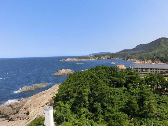 Izumo Hinomisaki Lighthouse: 灯台からの眺め