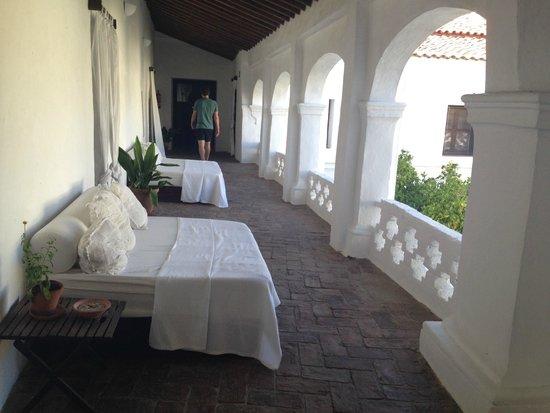 Hospederia Convento de la Parra: ZONAS COMUNES