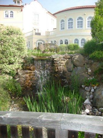 Hotel Bergergut: Blick vom Park