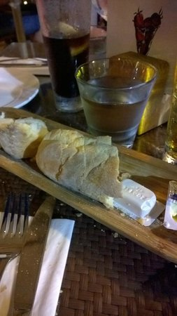 Agliolio : Stale bread