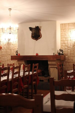 The Restaurant at the Hotel L'Argonn' Auberge (The Boar Symbolic of the Argonne Forest)