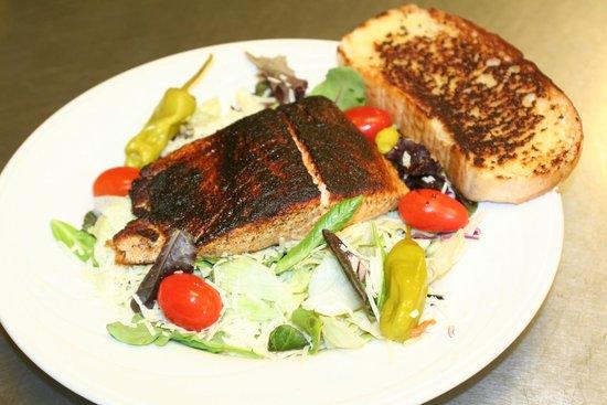 Fort Fairfield, ME: Blackened Salmon Salad