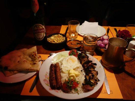 Peter Cat: Chelo kebabs