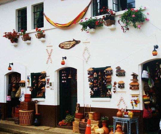 Tenza, Kolumbien: Artcrafts