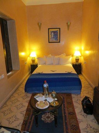 Riad Adriana: Chambre bleue