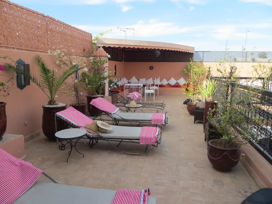 Riad Adriana: La terrasse
