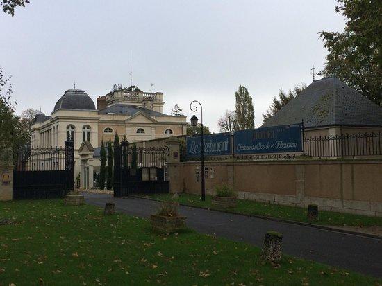 Chateau du Clos de la Ribaudiere : A l arrivée