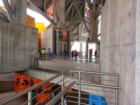 Biomuseo : entrance