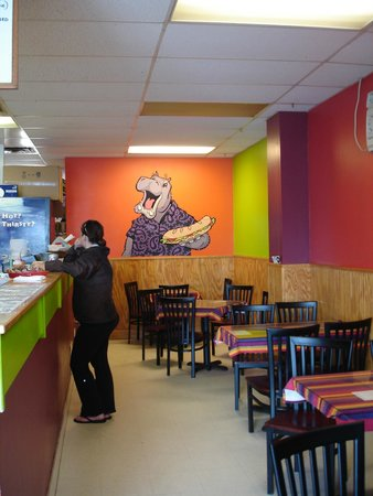 Hinesburg, VT: Inside the Paisley Hippo sandwich shop