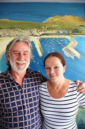 Hostal Bahia: Me and Domi at the Bahia