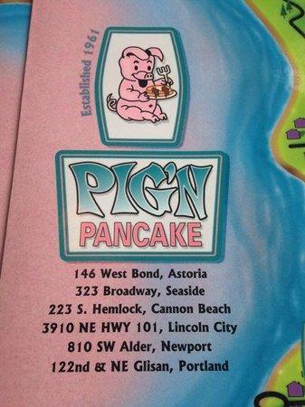 Pig 'n Pancake: Logo