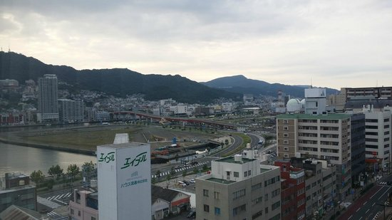 S-peria Hotel Nagasaki: Nice view from the room