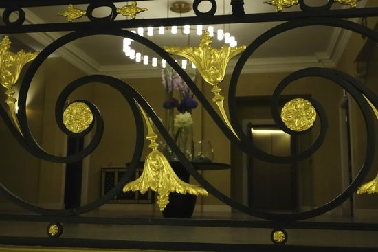 Hotel Cafe Royal: Details im Treppenhaus