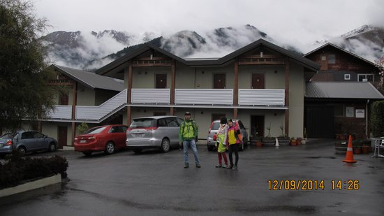 Queenstown Motel Apartments: Our rooms on the top floor