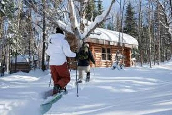Hotel Vacances Tremblant: Raquette Domaine St-Bernard Snowshoeing 3 km