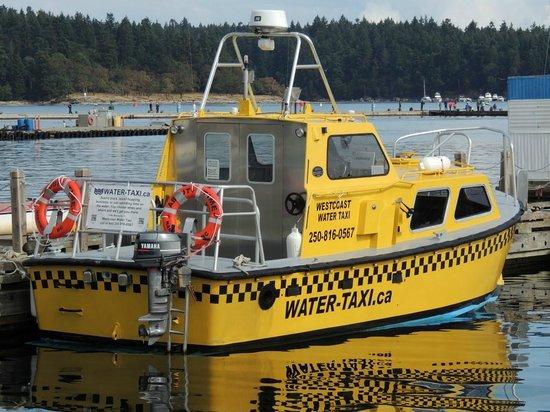 Nanaimo, Canadá: water taxi
