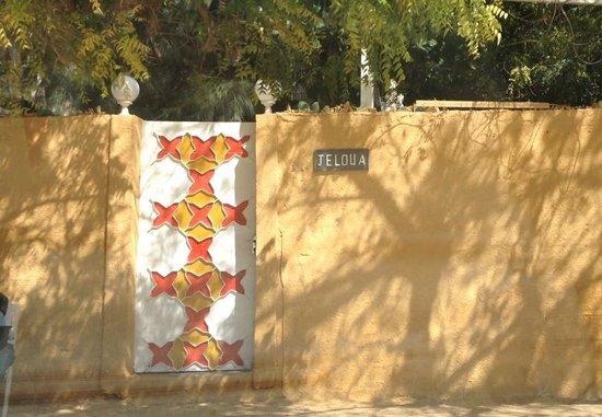 Maison d'hotes Jeloua : Entry to Jeloua