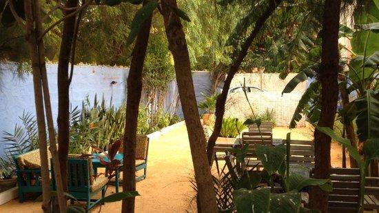 Maison d'hotes Jeloua : Garden