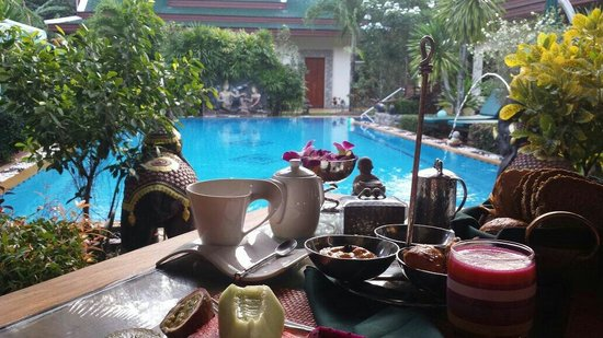 Baan Malinee Bed and Breakfast : Fantastisch ontbijt