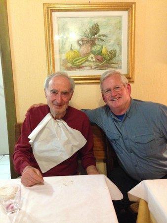 Trattoria Gigi Di Lippi Luciano : Delightful visit with #1 customer!