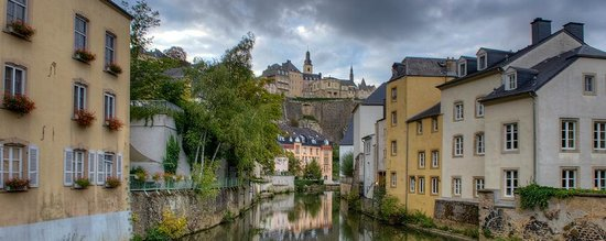 Le Royal Hotels & Resorts - Luxembourg : Part of the Old Town