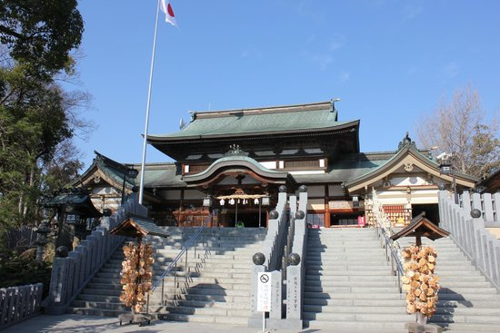 Iyozu Hikonomikoto Shrine