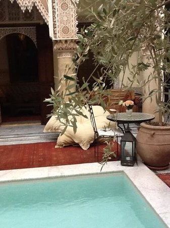 RIad Al Loune: lovely place to relax