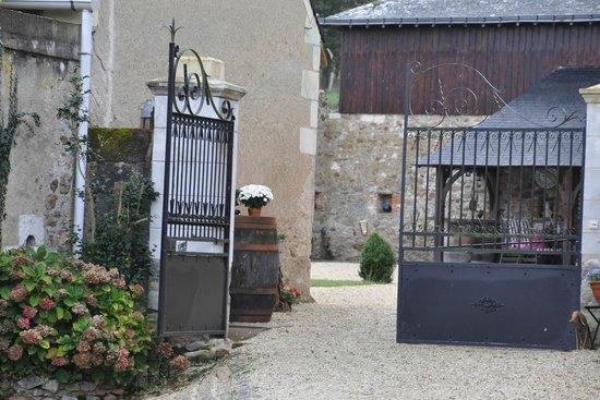 Chateau de Cheman : de toegangspoort