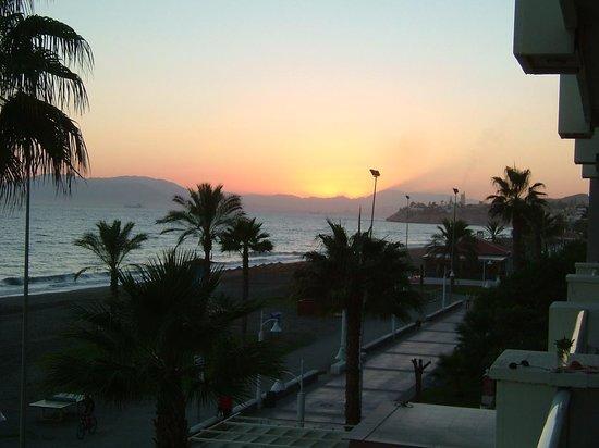 Hotel Elimar : Sonnenuntergang