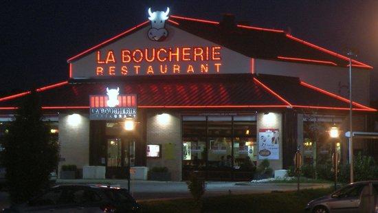 La Boucherie : Außenansicht