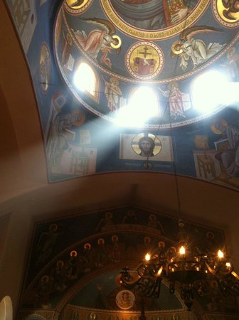 Image result for light orthodox church ceiling