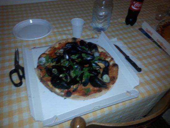 Fior di pizza : pizze belle saporite! Dell'ex