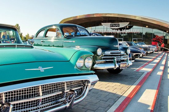 Tacoma, Waszyngton: Join us for Cruise-In at ACM, rain or shine!