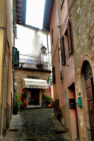 Villa Sant'Uberto Country Inn : Nearby Radda-in-Chianti