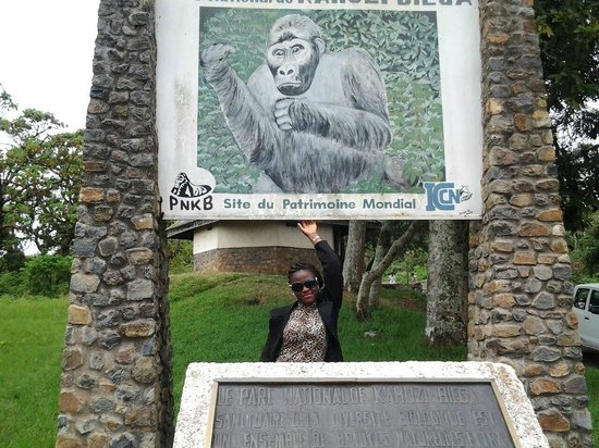 South Kivu Province, Democratic Republic of the Congo: At the Parc Head Quarters