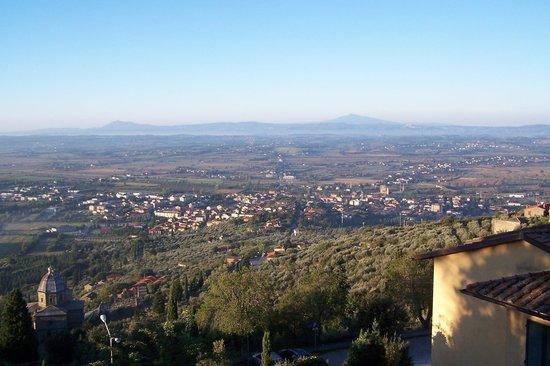 Hotel San Luca: Amazing views.