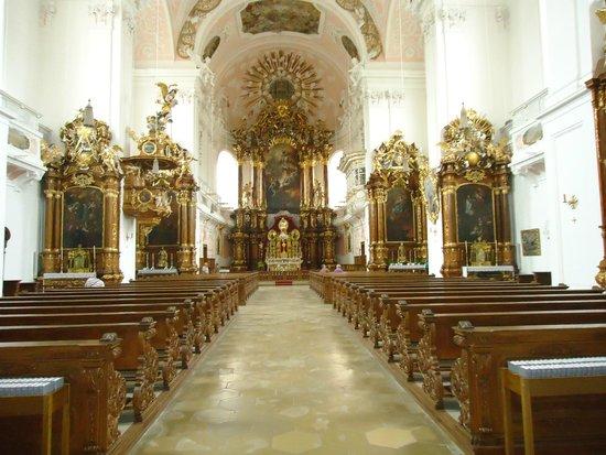 Eichstätt, Deutschland: vue d'interieur