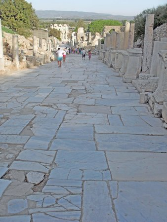 Curetes Street - Picture of Curetes Street, Selcuk ...
