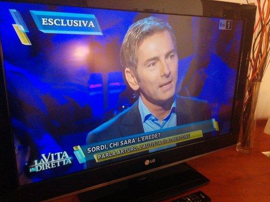 Monte Triana Hotel: tv